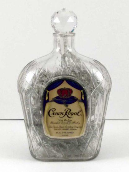 Crown Royal Bottle Lamp - Off
