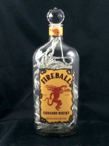 Fireball Whisky Mood Therapy Bottle Light - Off