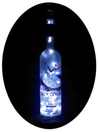 Grey Goose Mood Therapy Bottle Light with White LED's