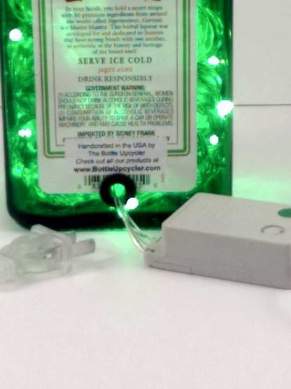 Jagermeister Mood Therapy Bottle Light with 8 Function LED Controller - Green
