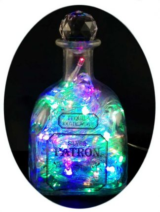 Patron Tequila Mood Therapy Bottle Light with Multi-Coler LED's