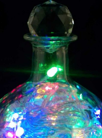 Patron Bottle Light 30% Asfour Crystal Prism Ball