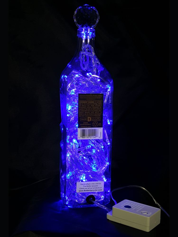 Johnnie Walker Black Label Liquor Bottle Light & Johnnie Walker Black Label Liquor Bottle Light | The Bottle Upcycler azcodes.com