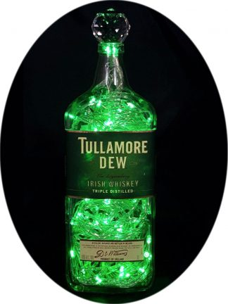 Tullamore Dew Liquor Bottle Light