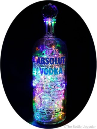 Absolut Liquor Bottle Light