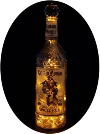 Captain Morgan Spiced Rum Liquor Bottle Light