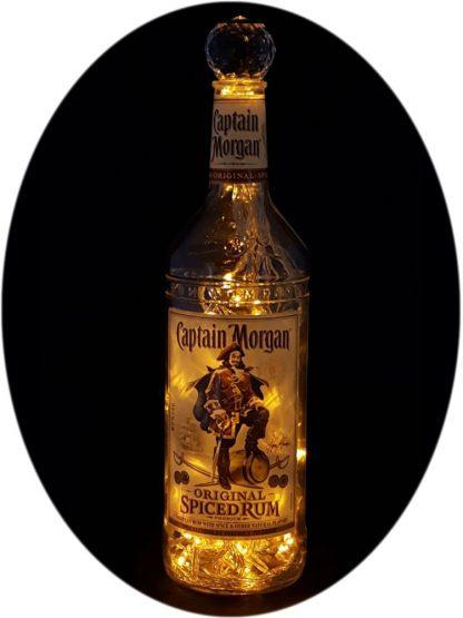 Captain Morgan Spiced Rum Liquor Bottle Light