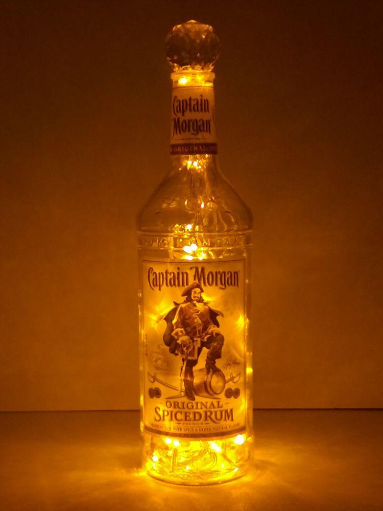 Captain Morgan Liquor Bottle Light Gold Led S The
