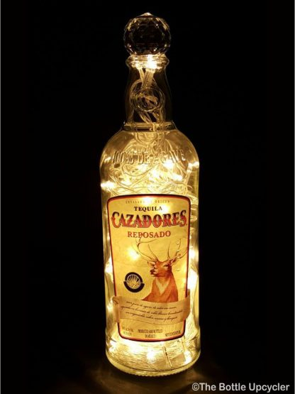 Cazadores Tequila Liquor Bottle Light