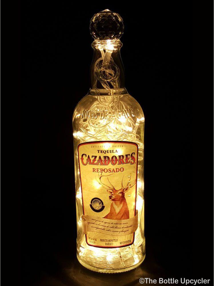 Cazadores Tequila Liquor Bottle Light The Bottle Upcycler