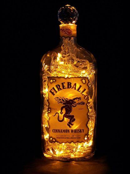 Fireball Whisky Mood Therapy Liquor Bottle Light
