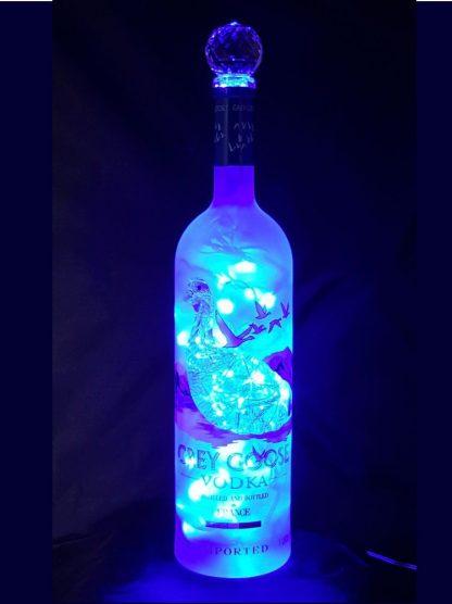 Grey Goose Vodka Liquor Bottle Light
