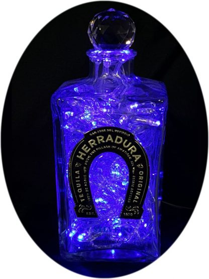 Herradura Tequila Bottle light