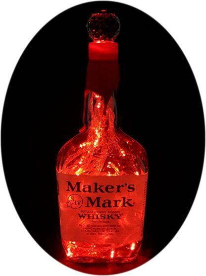 Makers Mark Whisky Liquor Bottle Light