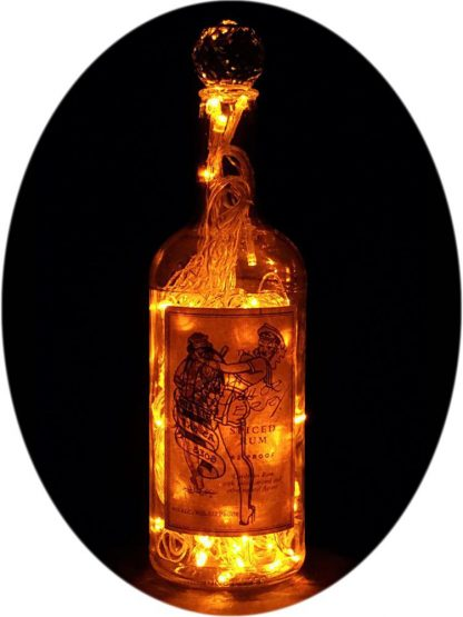 Sailor Jerry Spiced Rum Liquor Bottle Light