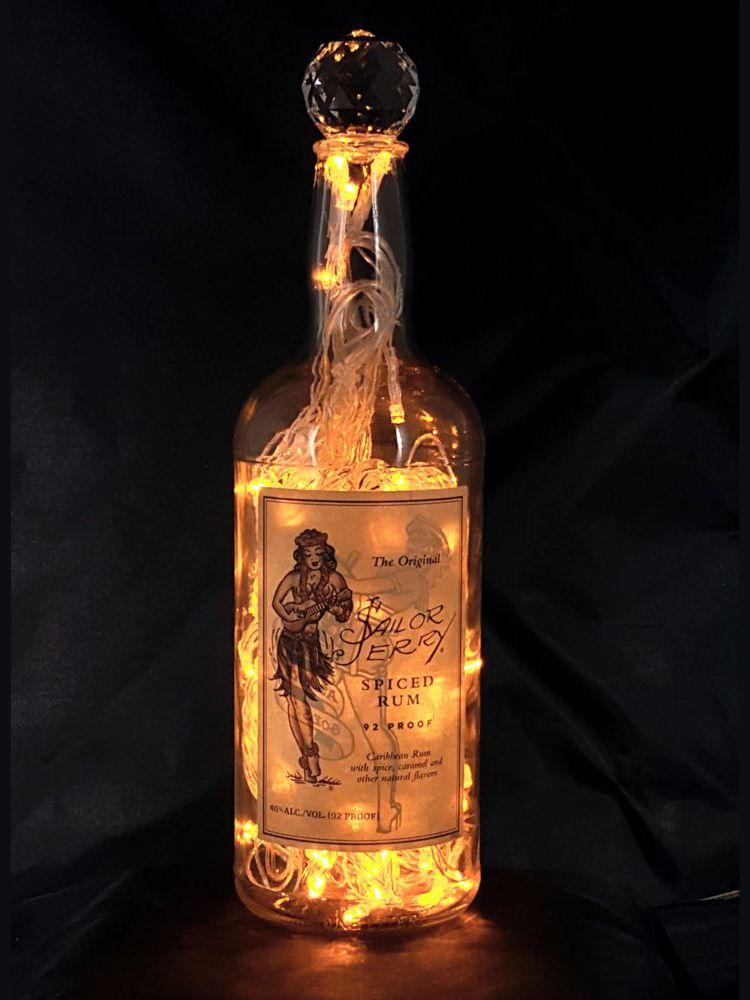 Sailor Jerry Liquor Bottle Light