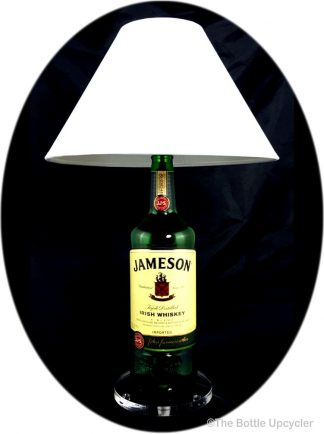 All Lit Up Jameson Liquor Bottle Lamp with Lamp Shade