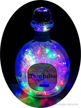 Upcycled Don Julio Blanco Tequila Mood Therapy Liquor Bottle Light