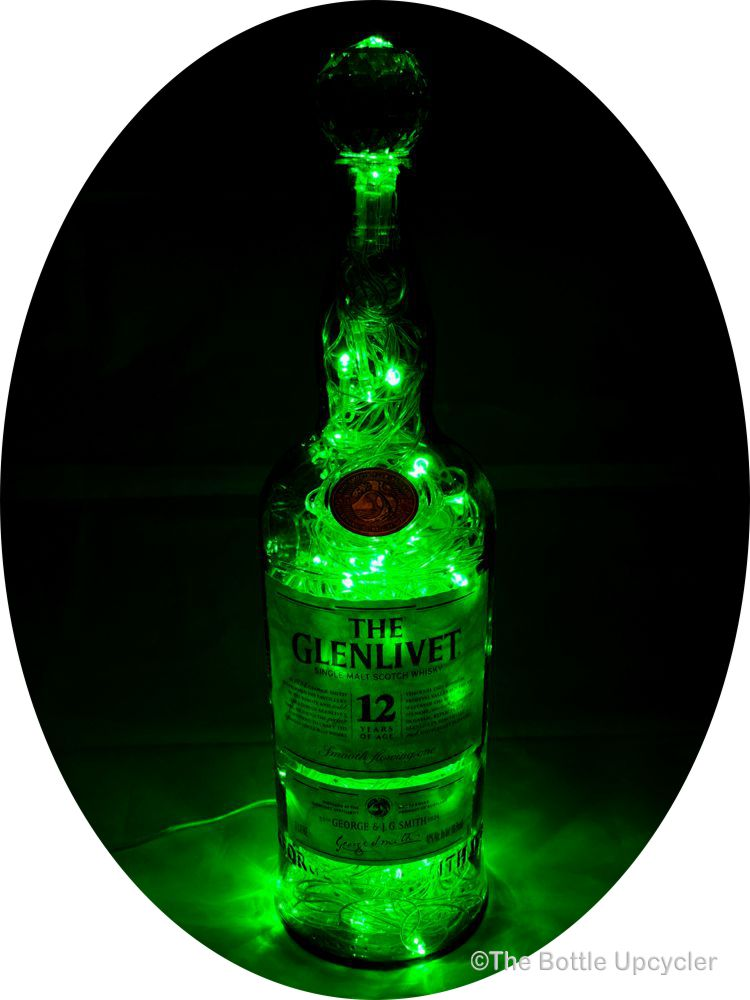 The Glenlivet Scotch Whisky Mood Therapy Liquor Bottle Light