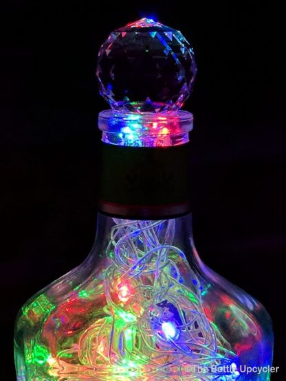 Upcycled Hornitos Tequila Mood Therapy Liquor Bottle Light